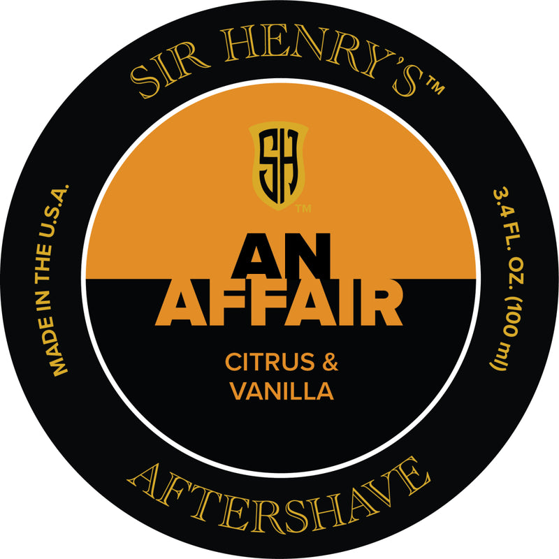 Sir Henry's® Black Tie Affair Aftershave Splash