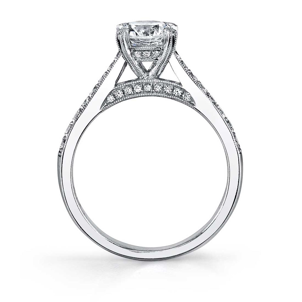Sylvie Nanette Classic Engagement Ring