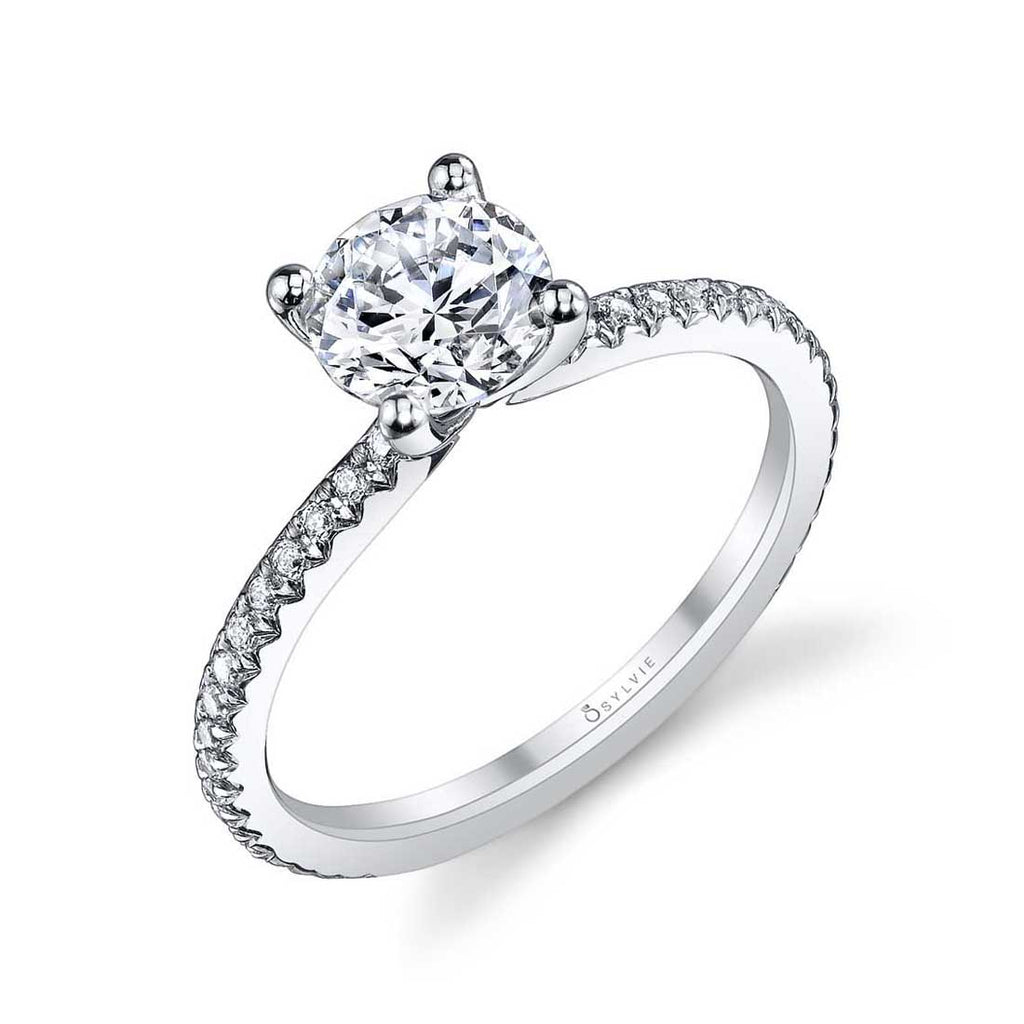 Sylvie Adorlee Solitaire Engagement Ring