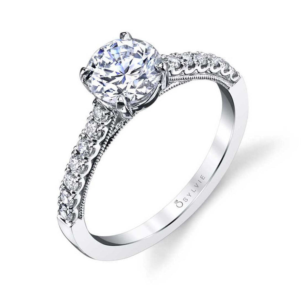 Sylvie Clara Classic Engagement Ring