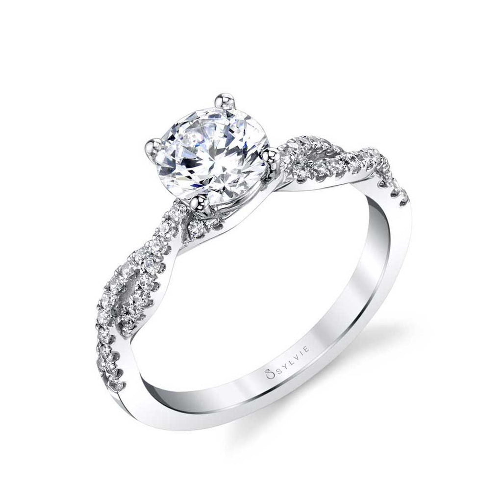 Sylvie Maeve Spiral Engagement Ring