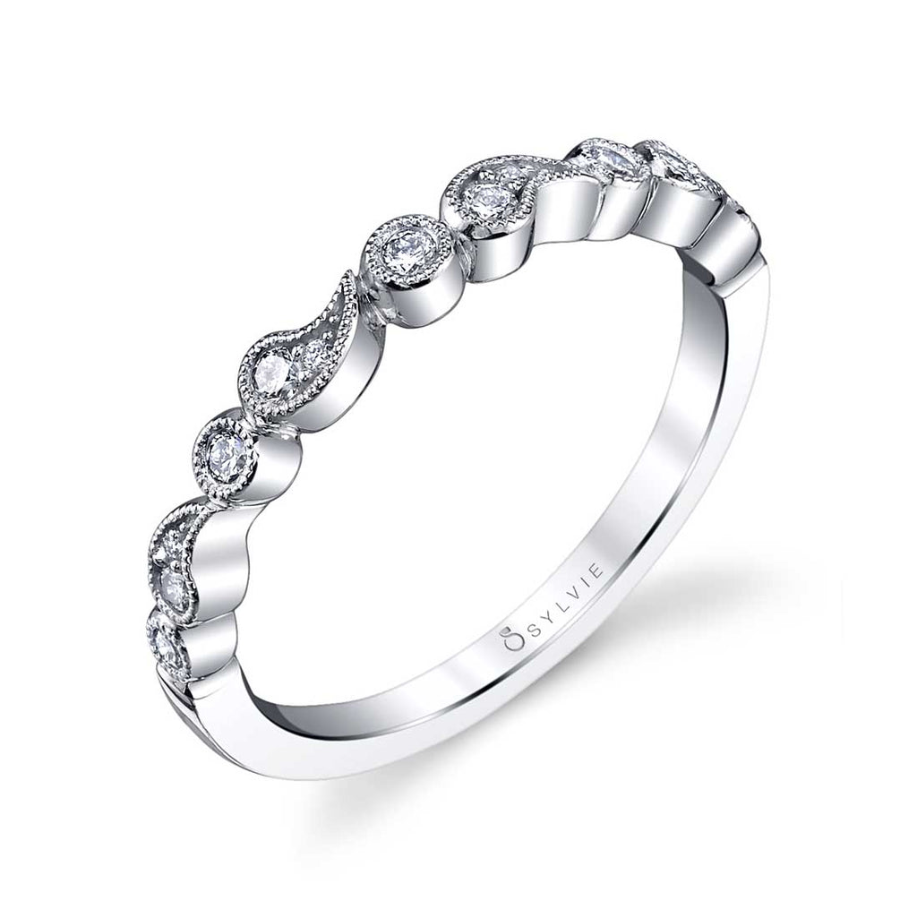 Sylvie Maeva Stackable Diamond Band