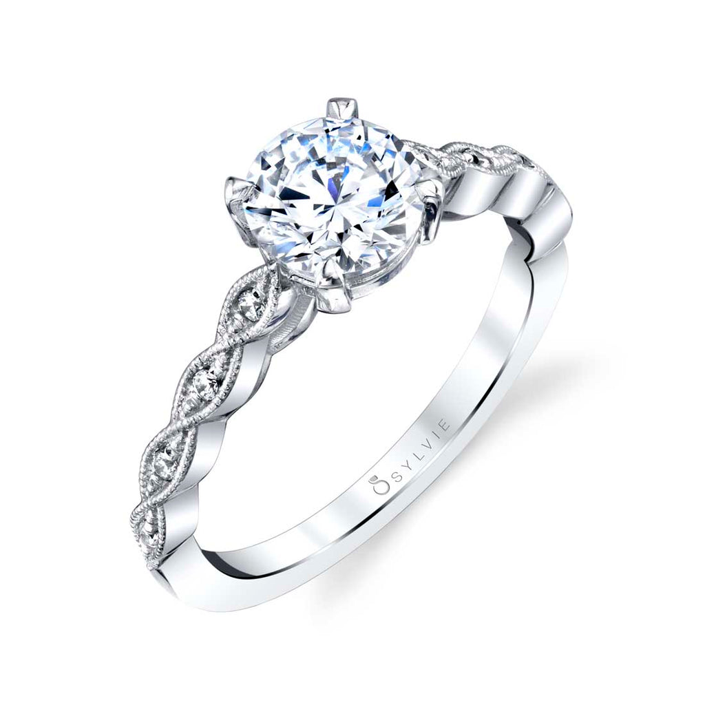 Sylvie Elena Diamond Engagement Ring