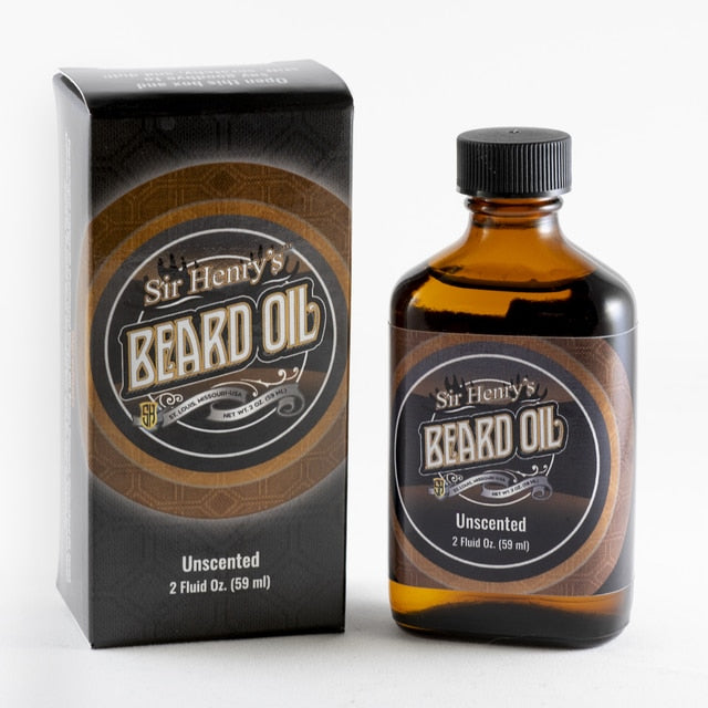 Sir Henry's® Beard & Pre-Shave Oil - Unscented