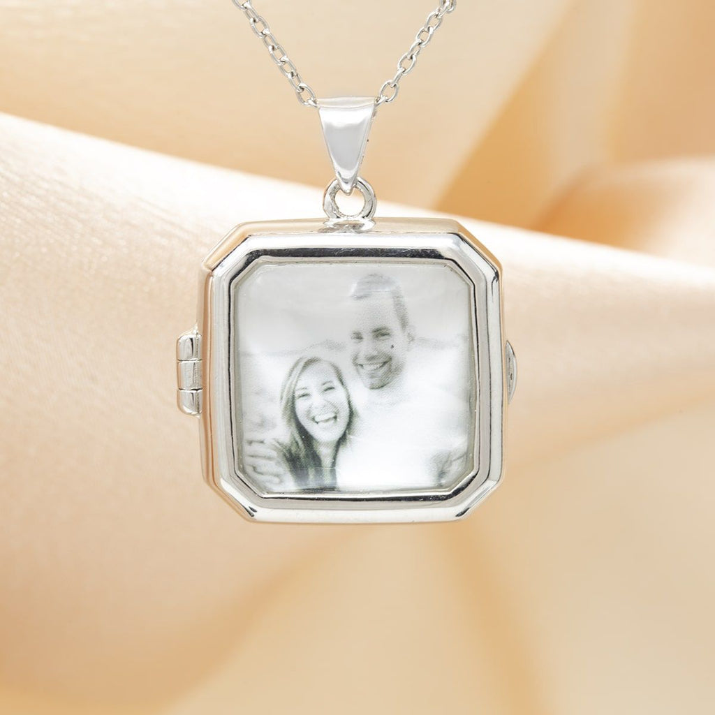 Glass Photo Locket