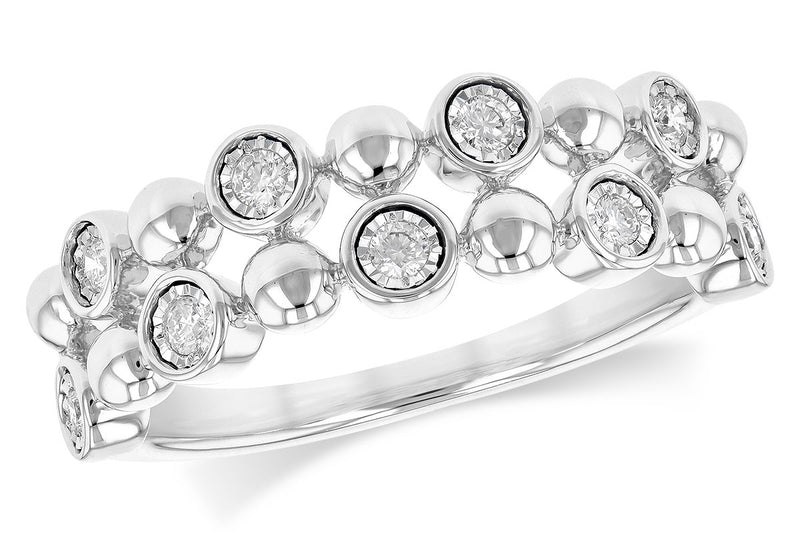 Diamond Bezel Set Ring