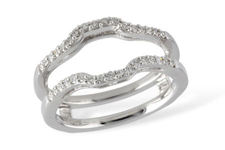 Diamond Contour Ring Guard