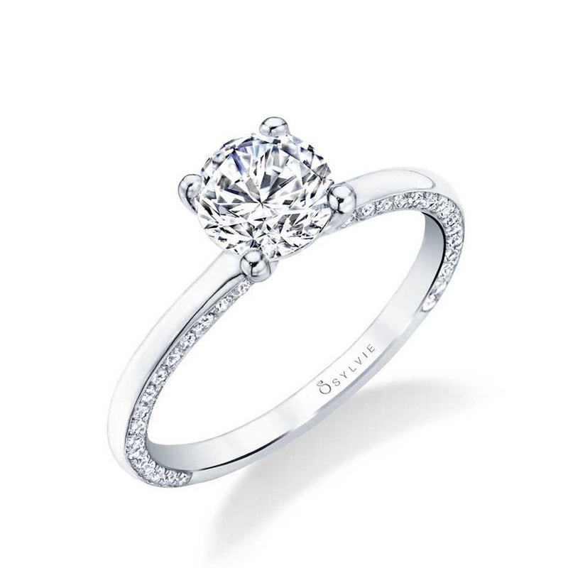 Sylvie Messaline Engagement Ring