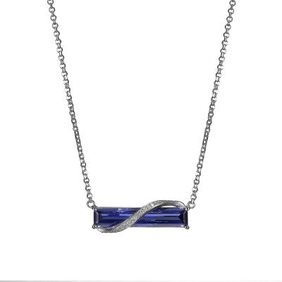 Elle Revolution Tanzanite Necklace