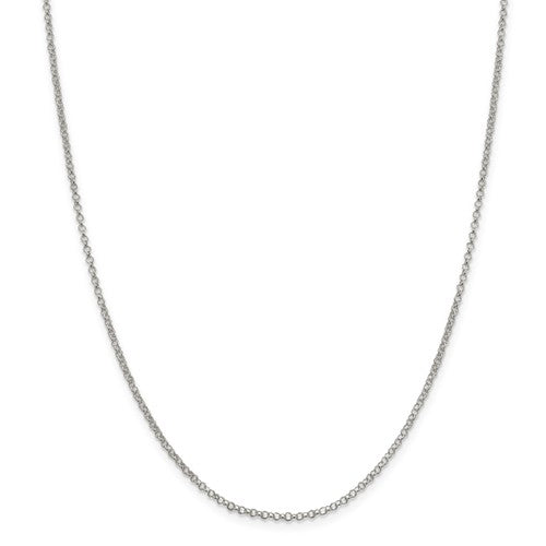 "18"" Rolo Chain Sterling Silver"