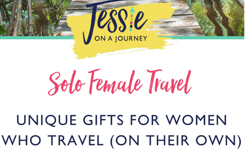 It's December, and the holidays are upon us — which means it's time to research what to get the special people in our lives.  And if you've got any traveling women to buy for, the following unique items ensure you've got their perfect present.  From safety essentials to innovative icebreakers, here are 22 gifts for solo female travelers.
