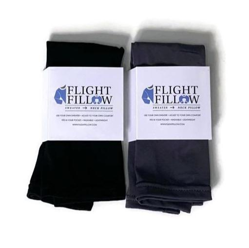 Best Seller Bundle | Grey and Black Flight Fillows | 2 Pack