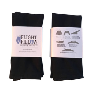All the benefits of a neck pillow without any of the hassle | Travel Pillow, Neck Pillow, Airplane Pillow, Travel Neck Pillow, Flight Pillow, Air Flight Pillow, Neck Support Pillow, Neck Support, Original Flight Fillow, Black Flight Fillow | Flight Fillow