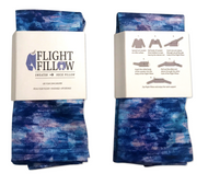 Watercolor Patterned Flight Fillow
