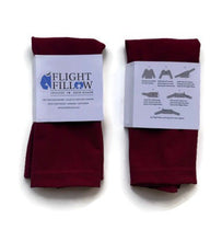 Burgundy Red Flight Fillow
