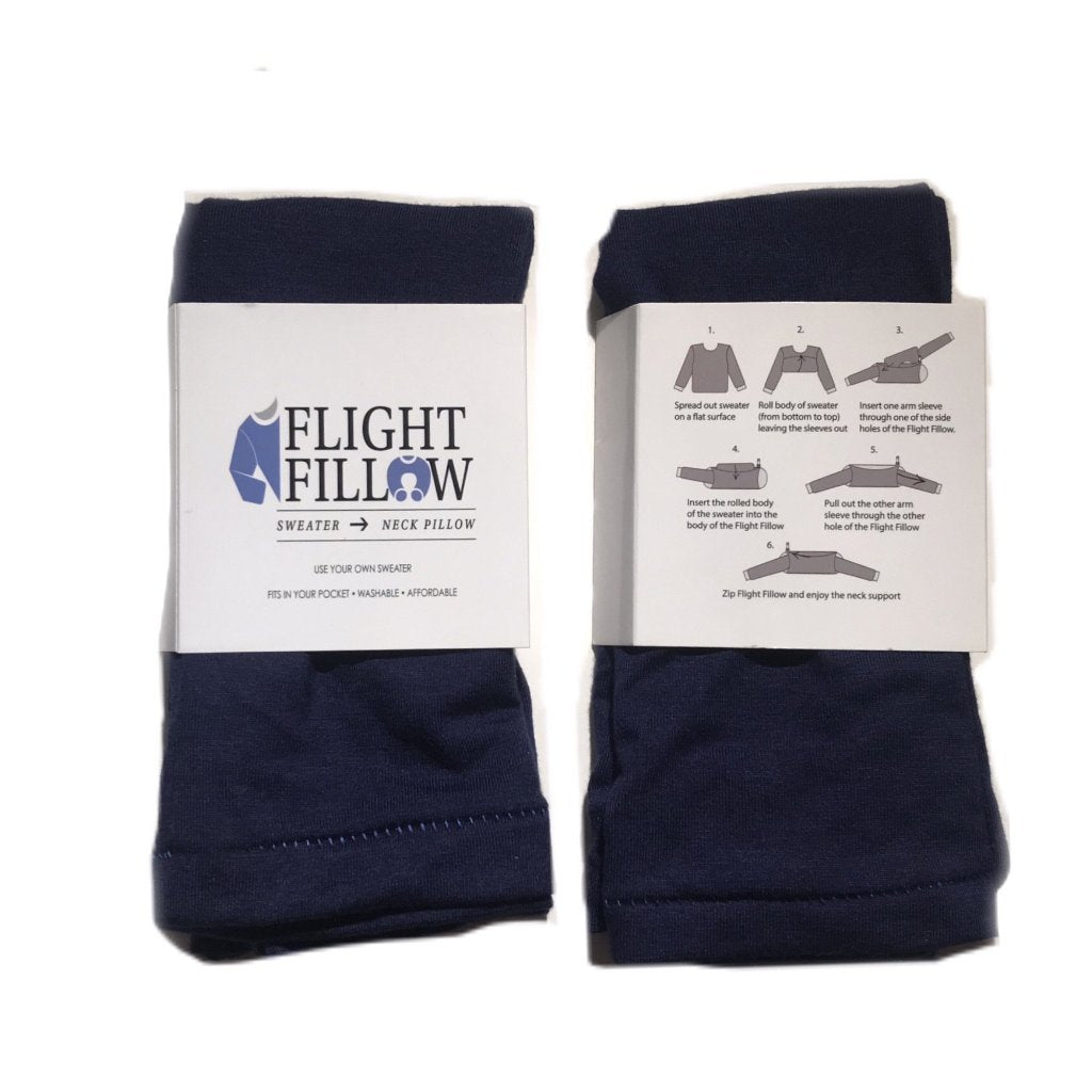 Navy Blue Flight Fillow