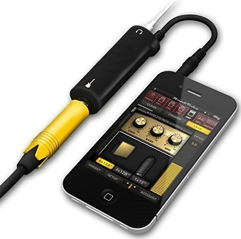 Smartphone & Tablets Guitar interface converter