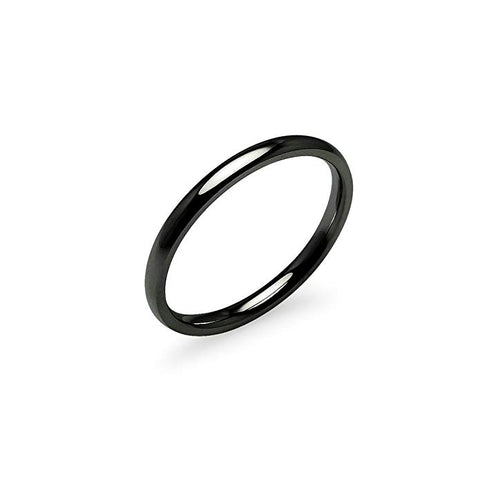 The comfort fit wedding band ring