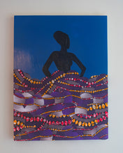 Load image into Gallery viewer, Mwanamke in the Purple Dress