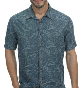 Venice Short Sleeve Denim Shirt