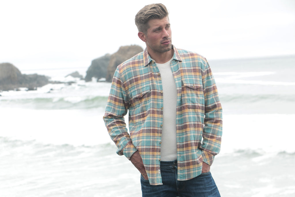 Los Olivios Regular Fit Plaid Flannel Shirt