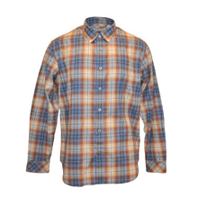 Freddler Regular Fit Plaid Flannel Shirt - Orange