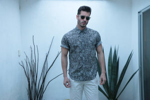 Jungle Short Sleeve Botanical Shirt