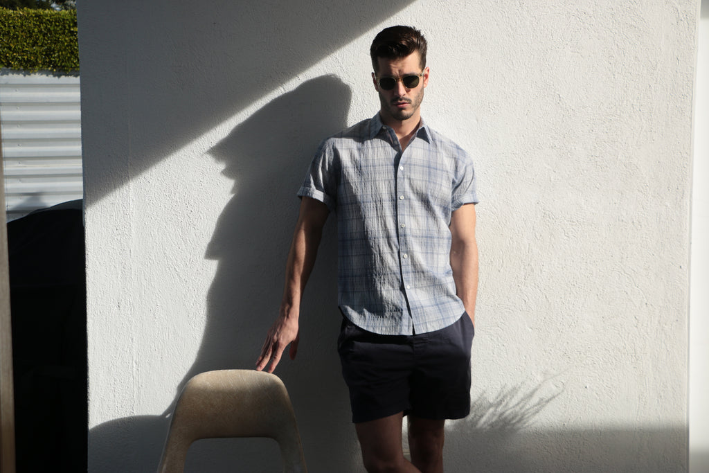 Newporter Seersucker Short Sleeve Shirt