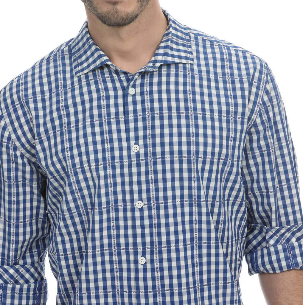 Ranchero Plaid Long Sleeve Shirt