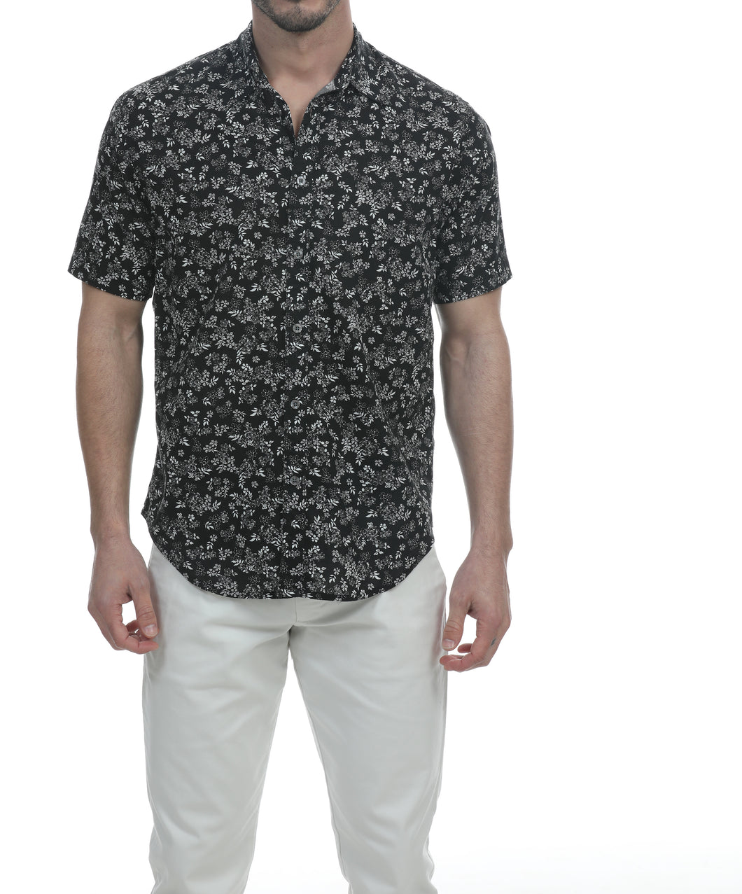 San Juan Short Sleeve Botanical Shirt