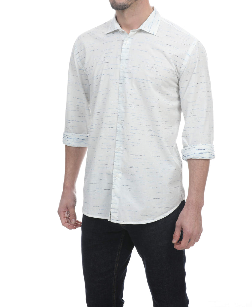 Kopi Long Sleeve Textured Shirt