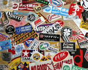 Custom Sticker Printing made from vinyl stickers