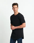 Next Level Men's Cotton Long Body Crew - 3602