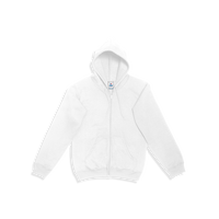 YazBek Unisex Full Zip Hoodie with Kangaroo Pocket - C0702