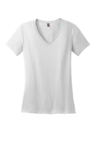 District Women's Perfect Weight V-Neck T-Shirt - DM1170L