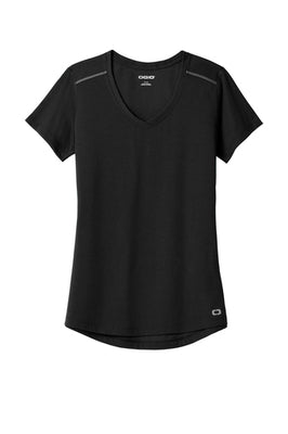 OGIO Endurance Ladies Peak V-Neck T-Shirt - LOE337