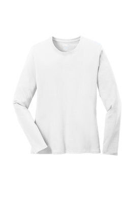 Port & Company Ladies Long Sleeve Core Cotton T-Shirt - LPC54LS