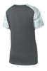 Sport-Tek Ladies CamoHex Colorblock V-Neck T-Shirts - LST371