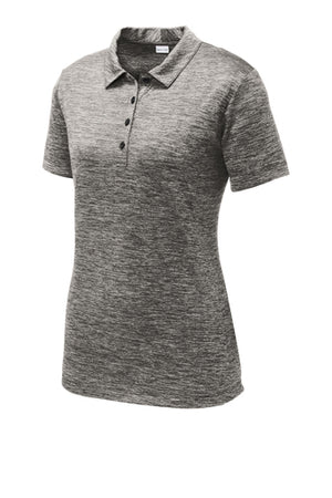 Sport-Tek Ladies PosiCharge Electric Heather Polo - LST590