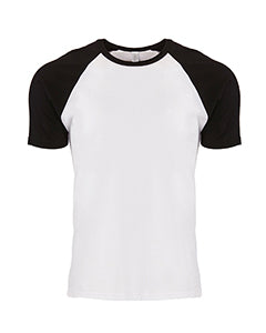 Next Level Unisex Raglan Short-Sleeve T-Shirt - N3650