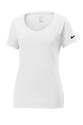 Nike Ladies Core Cotton Scoop Neck T-Shirt - NKBQ5236