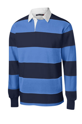 Sport-Tek Classic Long Sleeve Rugby Polo - ST301