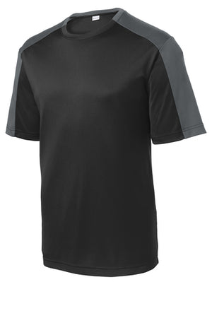 ST354 Sport-Tek PosiCharge Competitor Sleeve-Blocked T-Shirt