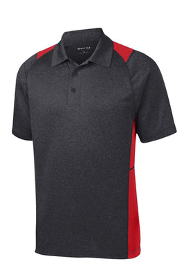 Sport-Tek Heather Colorblock Contender Polo - ST665
