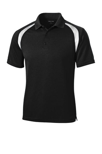 Sport-Tek Dry Zone Colorblock Raglan Polo - T476