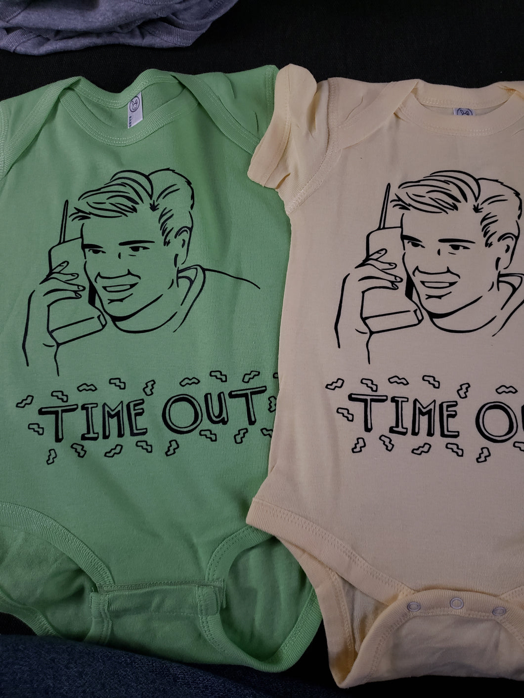 Time out onesies