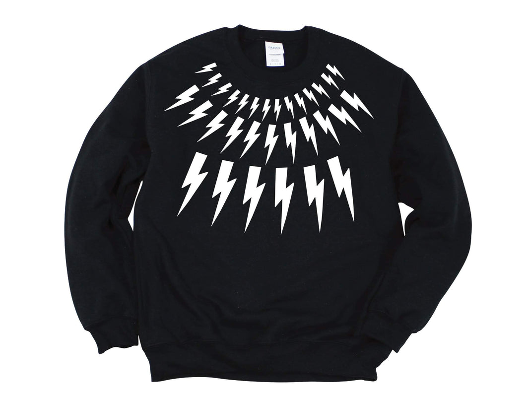 David Rose Lightning Bolt Kids/Youth Crewneck Sweater