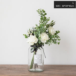Artificial Flowers for Wedding Vases for Flowers Home Dec