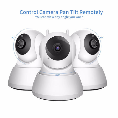 Home Security IP Camera Wi-Fi 1080P 720P Wireless Network Camera CCTV Camera Surveillance P2P Night Vision Baby Monitor