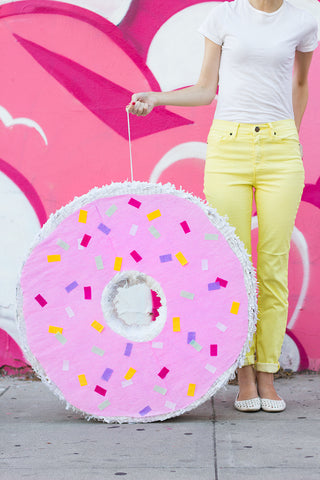 Donut Pinata Birthday party decor